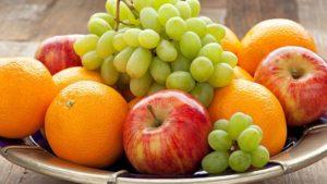 πιατέλα με φρούτα