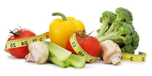 λαχανικά και μεζούρα